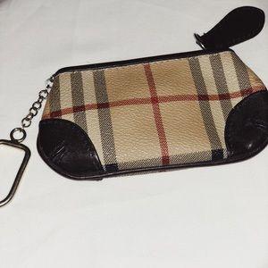 Burberry Keychain Wallet